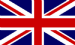 Great Britain Union Jack Boat / Courtesy Country Flag.